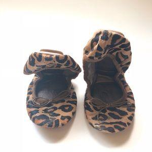 GAP Leopard Print Foldable Flats
